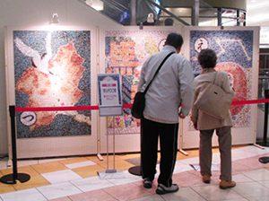イオンモール高崎 周年祭企画モザイクアート