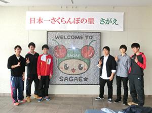 寒河江高校 貼って楽しむフォトモザイクアート