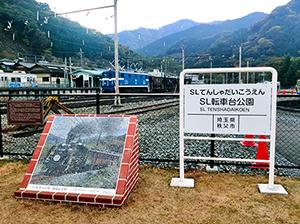 秩父鉄道 SL転車台公園開園記念