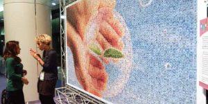 大きいサイズのスタンダード・フォトモザイクアート