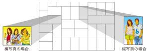 フォトモザイクタイルの形状