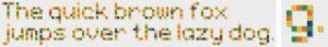 アルファベット小文字