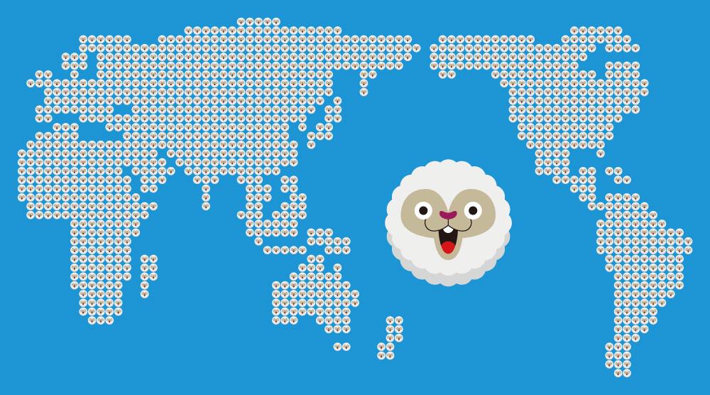 世界地図簡略ver