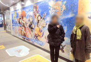 白猫プロジェクト巨大モザイクアート